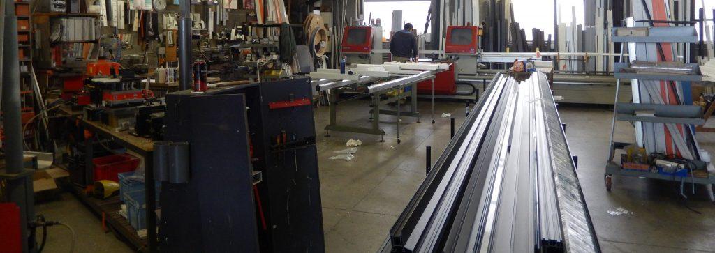 atelier de fabrication menuiserie