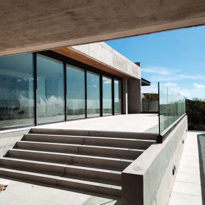 baie vitrée coulissante alu